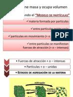 Materia y Estructura