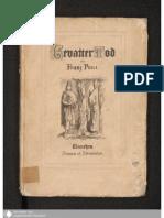 Franz Von Pocci - Gevatter Tod - Braun & Schneider, [1855]