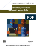 Preventivo y Correctivo Mantenimiento Pc