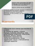 17.Pericarditis y Taponamiento Cardiaco