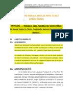 Informe Tecnico Plaza La Morada
