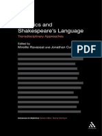 Advances in Stylistics Jonathan Culpeper Mireille Ravassat Stylistics and Shakespeare s Language Transdisciplinary Approaches Continuum 2011