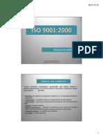 Iso 9001 - Tecnicas de Auditoria