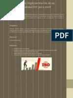 Diplomado en Implementación de Un Sistema de Calidad ISO 9001