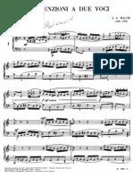Bach - Invenzione a due voci N° 1