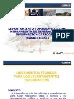 Levantamiento Topográficos Como Herramienta de Generación de La Información Cartográfica (Casuísticas)