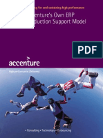Accentures Own Erp Production Support Model4575