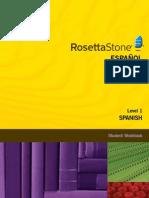 Spanish (Latin America) Level 1 - Student Workbook