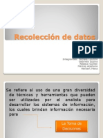 Presentacion de Recoleccion de Datos, Grupo 1