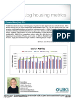 Newsletter July 2014 Karen Berg July 2014 Housing Metrics