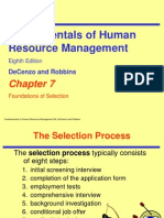 Selection HRM