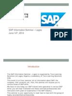 SAP Information Seminar Presentation