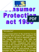 Unit 3 Consumer Protection Act
