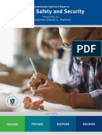 MA Task Force Report on School Safety and Security