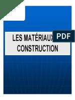 Les Materiaux de Construction Choix Et Dimensionnement