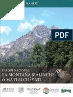 Programa de Manejo Malinche
