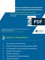 OECD Review on Evaluation and Assessment Frameworks for Improving School Outcomes