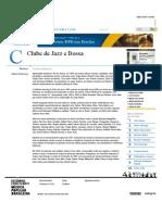 Clube de Jazz e Bossa - Dicionário Cravo Albin
