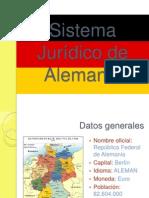 Sistema Jurídico de Alemania