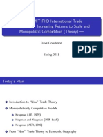 Lecture 9 - IRTS and MC (Theory)