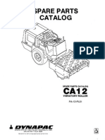 Dynapac CA12 Parts Catalog