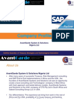 AvantGarde Systems Solutions Nigeria Ltd Company Profile