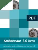 Ambtenaar 2.0 Beta