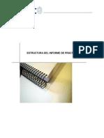 Estructura Del Informe de Práctica