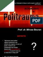 Mircea Beuran - Noutati in Politrauma