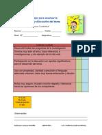 instrumento de evaluacin rubrica lista de cotejo y escala estimativa