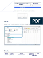 Instructivo Para Convertir Archivos Excel a Txt