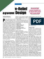 Pressure Relief System Design