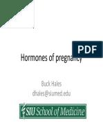 hormones of the placenta