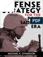Defense Strategy 4 Post Saddam Era
