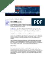 Vent Manifold Flare Manifold Design