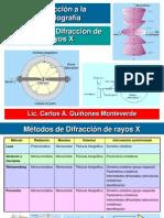 13. Métodos de Difracción de Rayos X - 1