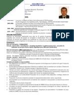Cv - Petre Dragomir Franceza