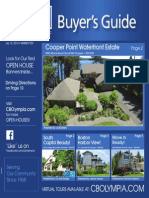 Coldwell Banker Olympia Real Estate Buyers Guide July 19th 2014
