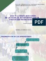 Ponencia Equipo Pedagogico de Educación Media General