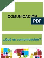 definicion COMUNICACIÓN