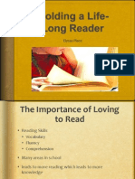 molding a life long reader powerpoint