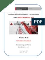 02 Practica AutoCAD Inicial SENCICO