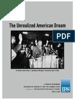 Unrealized American Dream