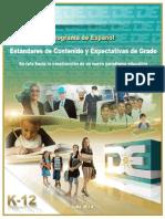 Estándares de Español 2014