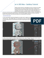 Unwrap a Character in 3DS Max - Sackboy Tutorial