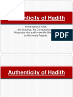 Authenticity-of-Hadith