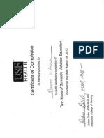 Certificates Portfolio