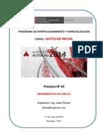 03 Practica AutoCAD Inicial SENCICO
