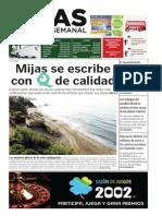 Mijas Semanal Nº 592 del 18 al 24 de julio de 2014