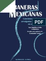 Canciones Mexicanas Para 2 Guitarras y Soprano